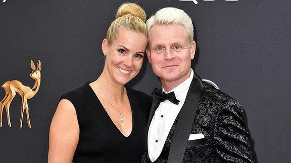Guido Cantz mit Ehefrau Kerstin Ricker