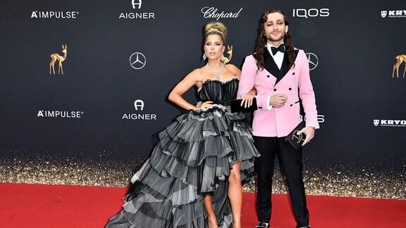 Sylvie Meis und Riccardo Simonetti bei der 71. Bambi-Verleihung