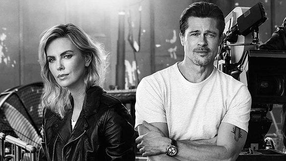 Charlize Theron und Brad Pitt
