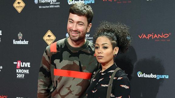 Der Sänger Marteria und seine Frau Jadu Freydank