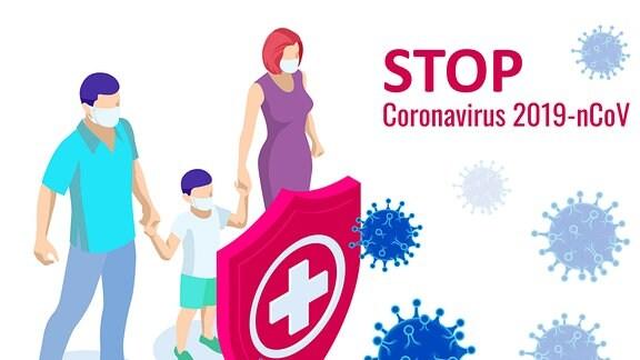 Quarantäne Corona-Virus