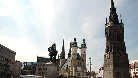 """Halle Saale, Marktkirche """"Unser lieben Frauen"""""""