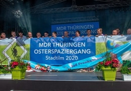 MDR -Osterspaziergang 2019 in Bad Frankenhausen