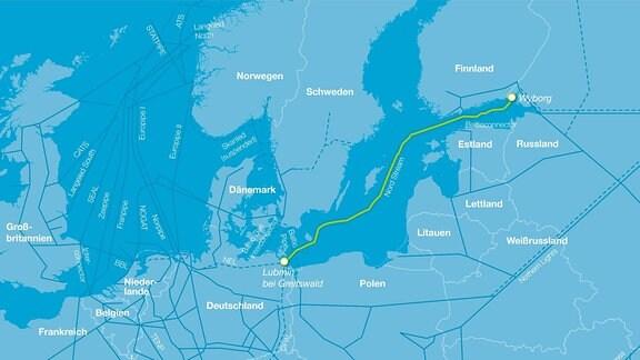Briefe Von Russland Nach Deutschland : Erdgas fließt über riskante routen nach deutschland mdr