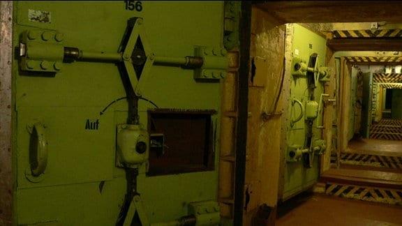 Zugang zu Honeckers Regierungsbunker