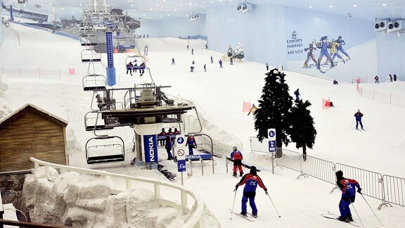 Skihalle in Dubai.