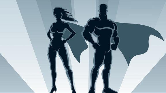 Superheldenpaar