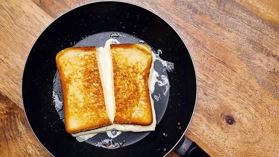 Gegrilltes Käsesandwich
