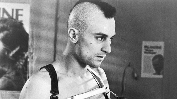 Travis Bickle (Robert DeNiro in dem Film 'Taxi Driver'