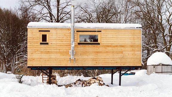 tiny houses wohnen auf 16 quadratmetern mdr de. Black Bedroom Furniture Sets. Home Design Ideas