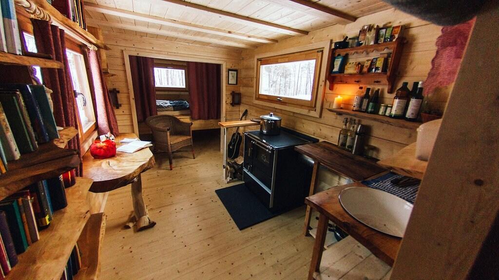 Tiny Houses Wohnen Auf 16 Quadratmetern Mdr De