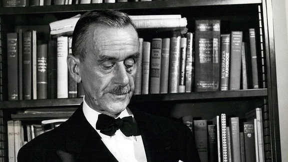 Der Author Thomas Mann