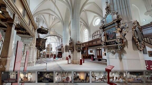Virtueller Rundgang Franziskanerkloster Zittau