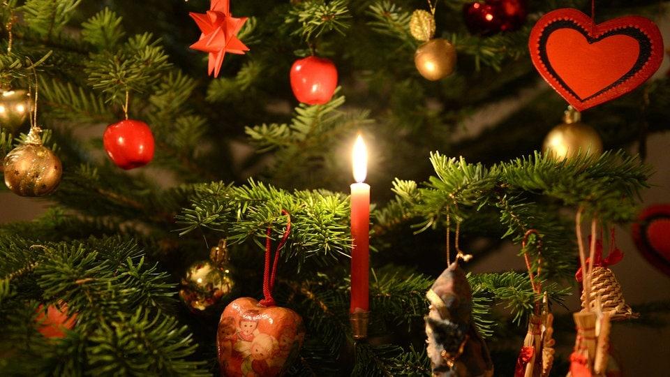 Wo Stand Der Erste Weihnachtsbaum.Martin Luther Der Erfinder Des Weihnachtsbaums Mdr De