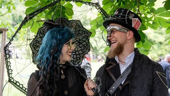 Auf dem Viktorianischen Picknick 2019
