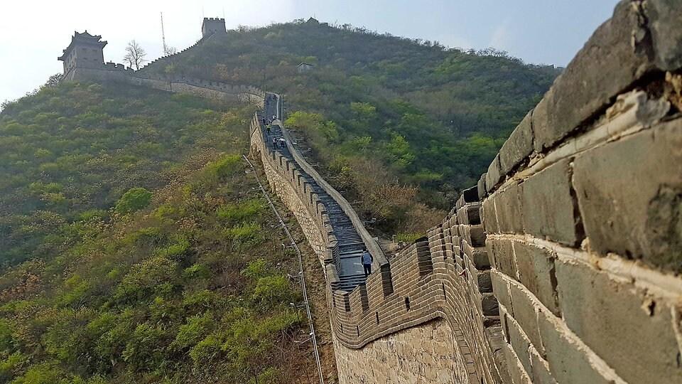 Chinesische Mauer Aus Dem All