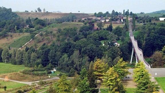 Buga-Gelände in Ronneburg