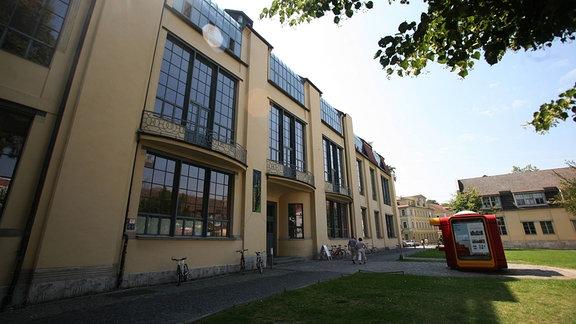 Die Bauhaus-Universität in Weimar