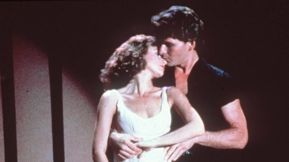 Jennifer Grey als Baby und Patrick Swayze als Johnny Castle, 1987