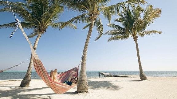 Belize an der Ostküste Mitelamerikas.