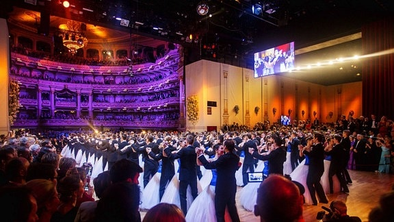 Debütanten beim 12. Semperopernball