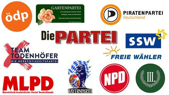 Kleine Parteien zur Bundestagswahl