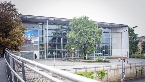 Das Hörsaalzentrum der TU Dresden.