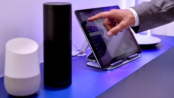 Google Home und Amazon Echo