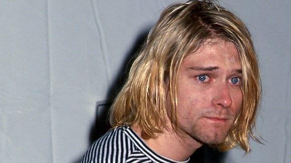 Sänger Kurt Cobain (Nirvana)