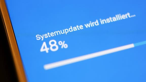 Smartphone Softwareupdate