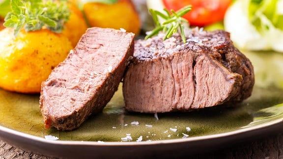 Ein saftiges Steak
