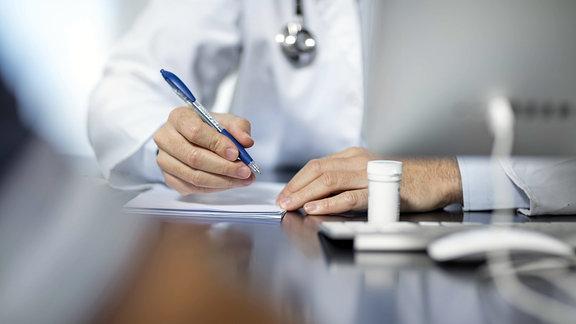 Hausarzt Sprechzimmer