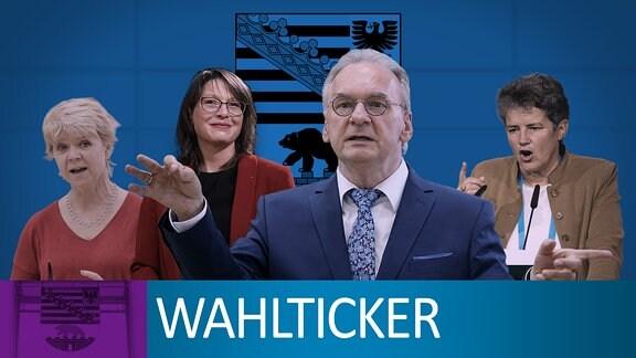 Die Spitzenpolitiker aus Sachsen-Anhalt