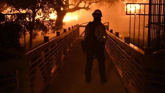 Waldbrand Kalifornien