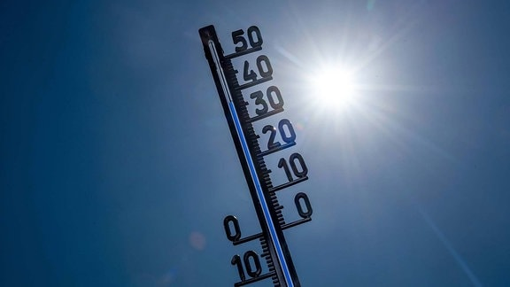 Hitze Wetter Thermometer
