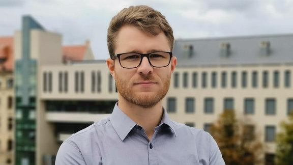 MDR-Redakteur Roland Jäger