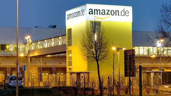 Amazon-Versandzentrum in Leipzig