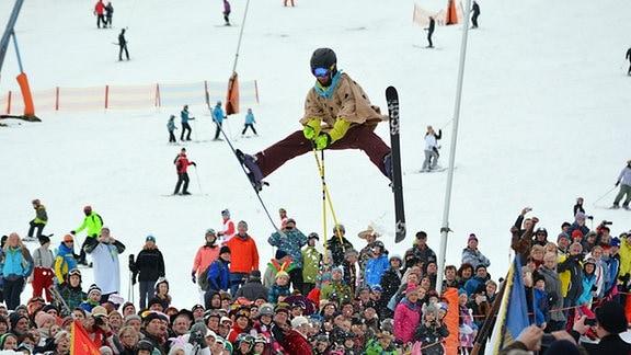 Skifasching in Oberwiesenthal