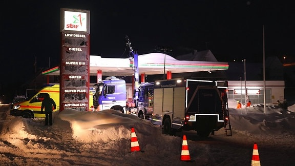 Tankstelle Altenberg