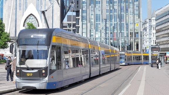Straßenbahn in Leipzig, LVB