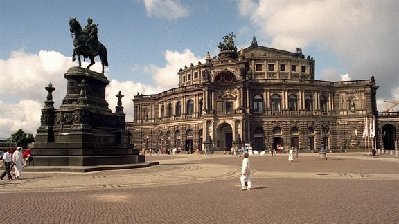 Die Dresdener Semperoper