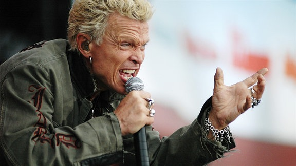 Sänger Billy Idol