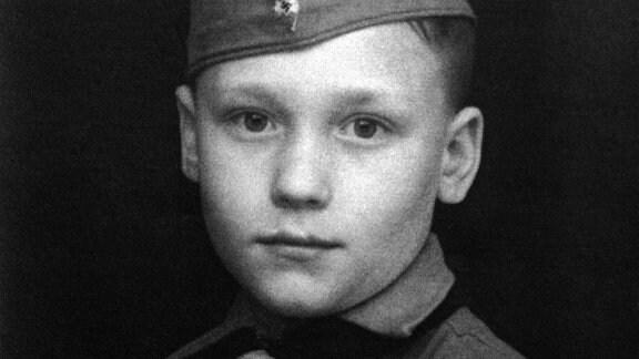 Protagonist Wolfgang Pickert (Jahrgang 1930) als Pimpf.