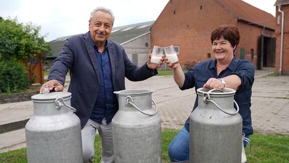 Wolfgang Stumph und Sibylle Klug
