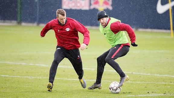 Lukas Klostermann und Emil Forsberg