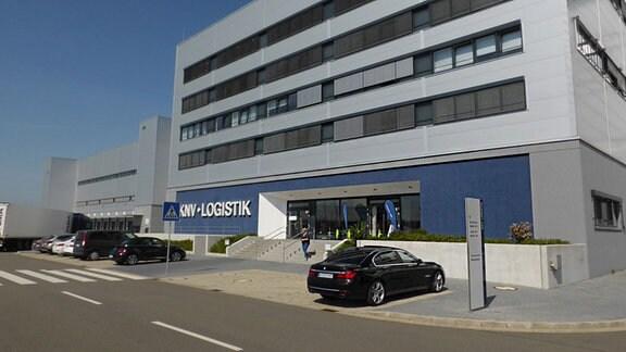 Das Logistigzentrum von KNV in Erfurt.