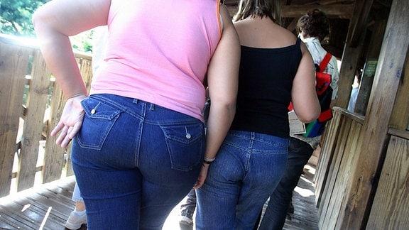 Frauen von hinten