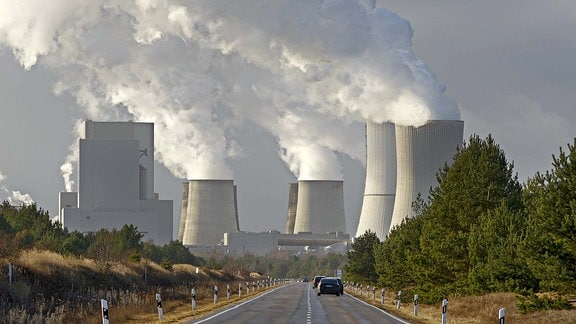 Braunkohlekraftwerk Boxberg in Sachsen.