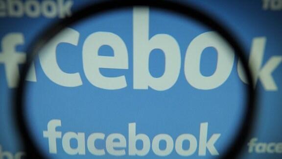Der Facebook-Schriftzug