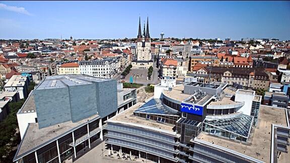 MDR-Hörfunkzentrale in Halle